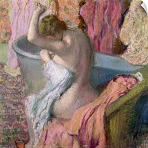 Seated Bather, 1899 (pastel on paper)