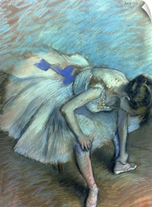 Seated Dancer, c.1881 83 (pastel on paper)