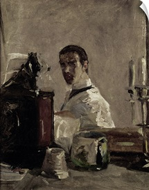 Self Portrait, 1880 (oil on panel)