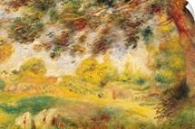 Spring Landscape (oil on canvas)