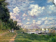 The Marina at Argenteuil, 1872 (oil on canvas)