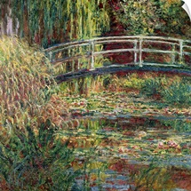 Waterlily Pond: Pink Harmony, 1900 (oil on canvas)