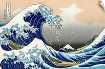The Great Wave Of Kanagawa By Katsushika Hokusai