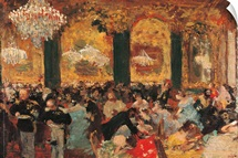 Dinner at the Ball, by Edgar Degas, 1879. Musee d'Orsay, Paris, France