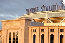 Exterior of Yankee Stadium in New York City, 2009