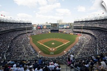 Yankee Stadium during a game in New York City