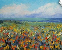 Wildflower Seascape
