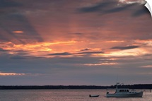 Boat in the river, Saint Michaels, Chesapeake Bay, Maryland