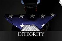 Military Poster: Integrity