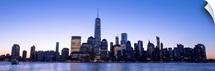 New York City Skyline in the Evening