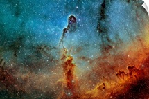 The Elephant Trunk Nebula