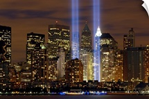 The Tribute in Light memorial