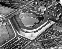 New York: Yankee Stadium, Aerial view