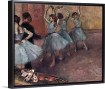 Blue Dancers, c.1882 (oil on canvas)