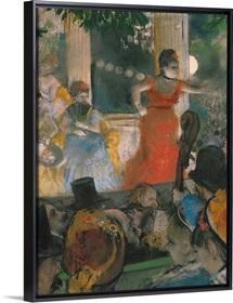 Cafe Concert at Les Ambassadeurs, 1876 77 (pastel on paper)