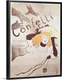Confetti, 1893 (colour litho) (see also 84459)