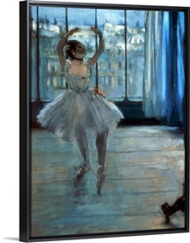 Dancer in Front of a Window (Dancer at the Photographers Studio)