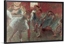 Dancers at Rehearsal, 1895 98 (pastel on paper)