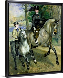 Horsewoman in the Bois de Boulogne, 1873 (oil on canvas)