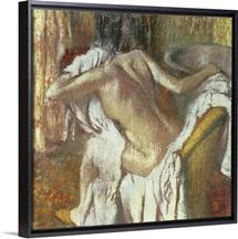Woman drying herself, c.1888 92 (pastel)