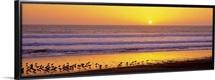 Sunset near Santa Cruz CA