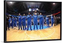 Oklahoma City Thunder versus Dallas Mavericks - Game One