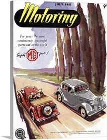 Motoring Magazine, July 1953