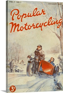 Popular Motorcycling, January 1937