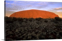 Australia, Northern Territory, Yulara, Uluru-Kata Tjuta National Park, Ayer&amp;#39;s Rock
