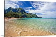 Hawaii, Kauai, North Shore, Tunnels Beach, Bali Hai Point