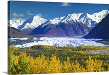 Scenic view of Matanuska Glacier