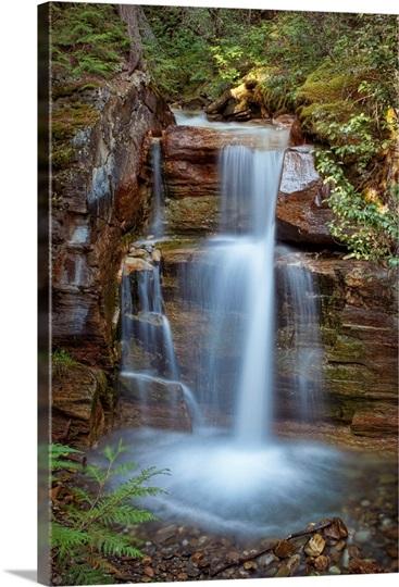 Silky Flow Of Waterfalls Rainbow Falls Mcbride British