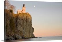Split Rock Lighthouse On The North Shores Of Lake Superior, Minnesota