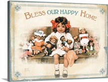 Bessie Pease Bless Our Happy Home