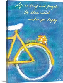 Bicycle Inspirational Print