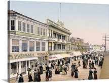 Board Walk Atlantic City New Jersey Vintage Photograph