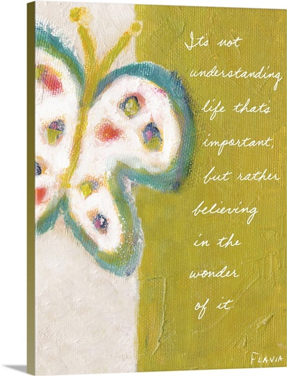 Butterfly Inspirational Print