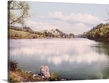 Connecticut River at Hanover New Hampshire Vintage Photograph