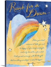 Reach for a Dream Inspirational Print