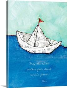 Sailing Inspirational Print