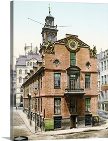 The Old State House Boston Massachusetts Vintage Photograph