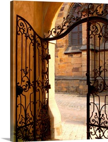 Wrought Iron Cathedral Gate