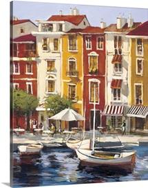 Mediterranean Waterfront I