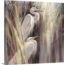Seaside Egrets