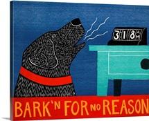 Barkin for no reason black