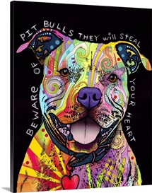 Beware of Pit Bulls, they will steal your heart