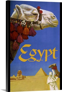 Egypt - Vintage Travel Advertisement
