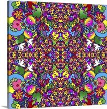 Flowers Kaleidoscope