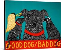 Good Dog Bad Dog Black
