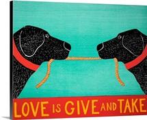 Love Is - Black Labs